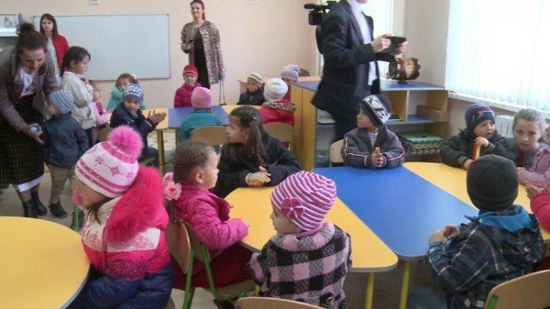 Good news: More children from Ruseştii Noi village able to attend kindergarten