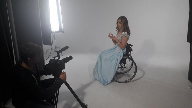 Moldovan candidate for Miss Wheelchair and her supporters left speechless by results