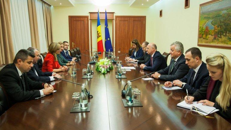 Pavel Filip met with Ekaterina Zaharieva to discuss strengthening bilateral relations