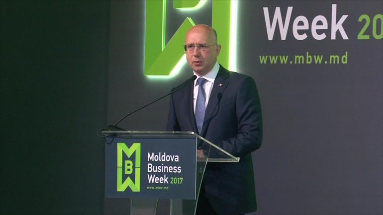 Moldova Business Week 2017. Pavel Filip: Government intends to become a trusted partner for business