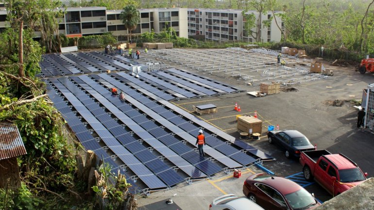 Tesla followed up on Elon Musk's promise and sets up solar panels to help Puerto Rico