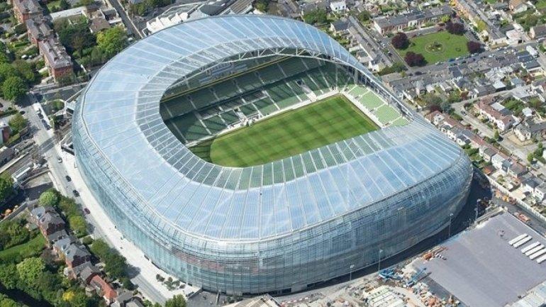 Moldova's and Ireland's football teams to face each other at Aviva stadium
