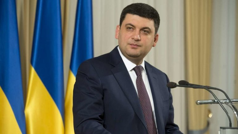 Prime Minister of Ukraine during official visit to Moldova will meet with Pavel Filip and Andrian Candu