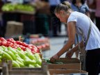 Farmer from Orhei grows organic peppers for local markets