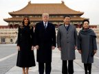 U.S President and First Lady visited Forbidden City in their China visit (video)
