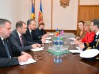 Collaboration between British and Moldovan military discussed at Defense Ministry