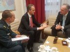 Eugen Sturza met with NATO official in Brussels to discuss further cooperation