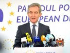 Deputy Speaker Iurie Leancă greets European Parliament's decision supporting Moldova