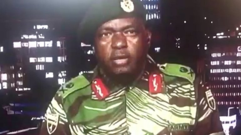 Full statement of Zimbabwe army: We intend to address human security threats in our country