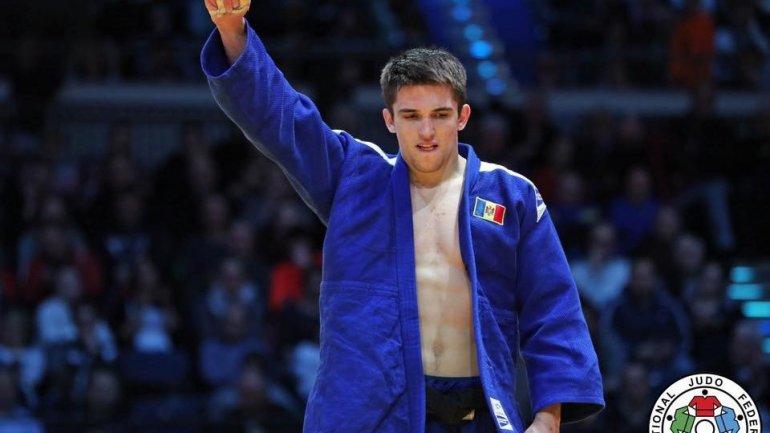 Moldova's Judo fighter Dorin Goţonoagă won gold in U23