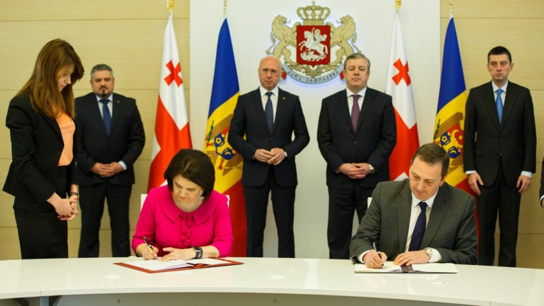 Moldova and Georgia signed agreement to avoid double taxation and prevent tax evasion
