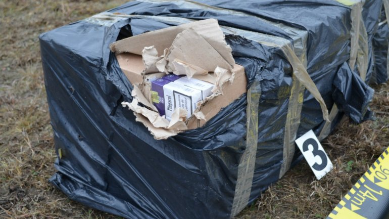 Cigarettes smuggling attempt stopped near Prut river