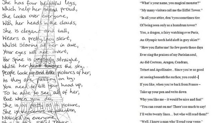 French President replied to 13-year-old's letter with his own poem