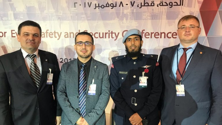 Deputy chief of IGP and chief of Center for International Police Cooperation attended safety and security conference in Qatar
