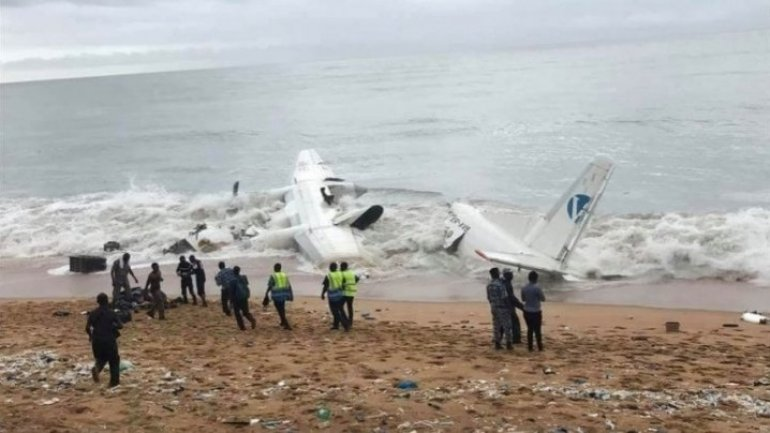 Black boxes of crushed planes on Côte d'Ivoire will be transmitted to Kiev
