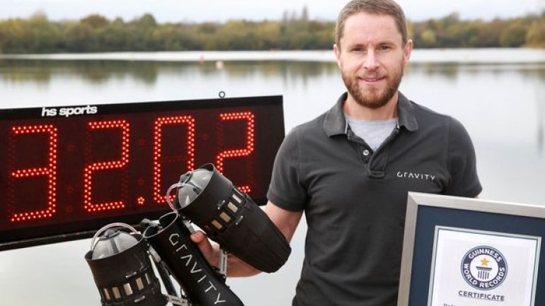 Real-Life Iron Man suit took flight and broke world record