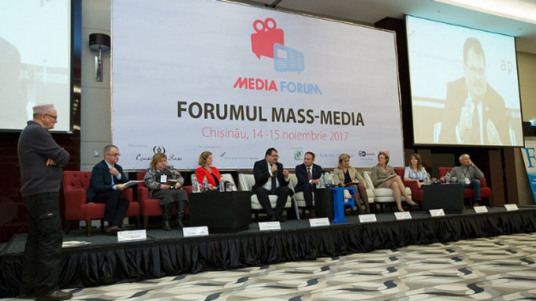 Andrian Candu attended opening ceremony of Mass Media Forum