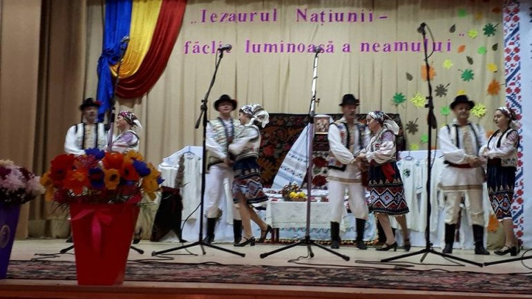Moldova's traditions presented at concert organized for elders in Făleşti