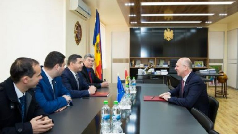 Pavel Filip and Cahul authorities discuss Government Reforms