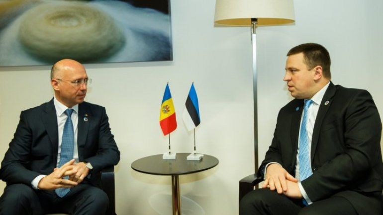 EGovernment - topic discussed by Moldovan and Estonian officials in Brussels