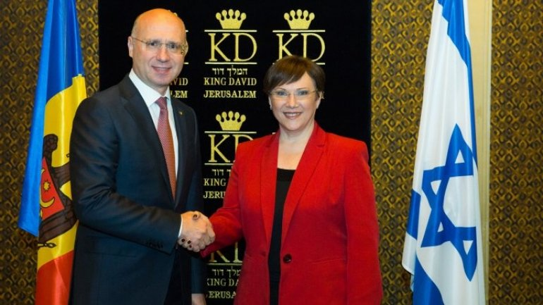 Moldo-Israel relationships, topic discussed by Premier Pavel Filip and Knesset Deputy Chair Tali Ploskov