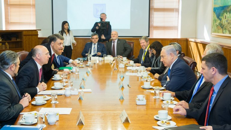 Prime Ministers of Moldova and Israel met to discuss bilateral relations