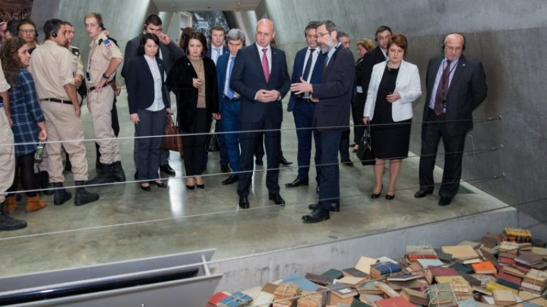 Pavel Filip visited World Holocaust Remembrance Center, Yad Vashem