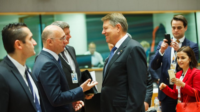 Pavel Filip met with Klaus Iohannis. It's time for Moldova to start a new chapter on its European track
