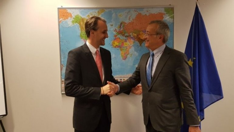 Defense cooperation between Moldova - EU, topic discussed in Brussels