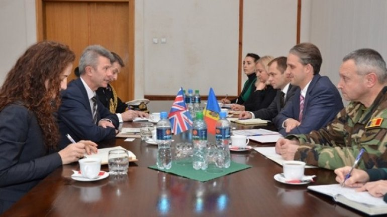 Eugen Sturza met Director for politics of international security within Britain Defence Ministry