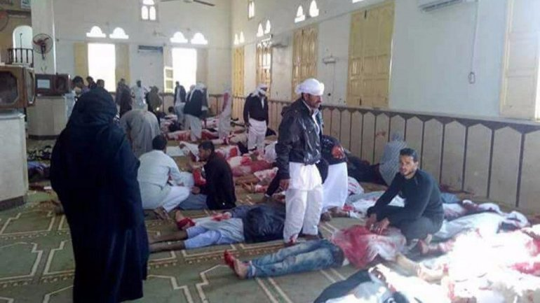 Egypt's deadliest attack: At least 230 killed in Sinai mosque