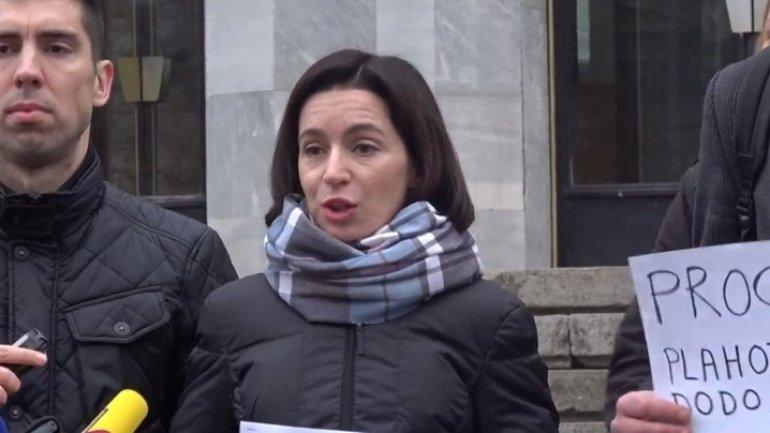 Evidenceless crime, Maia Sandu carried out bungled protest against court decision