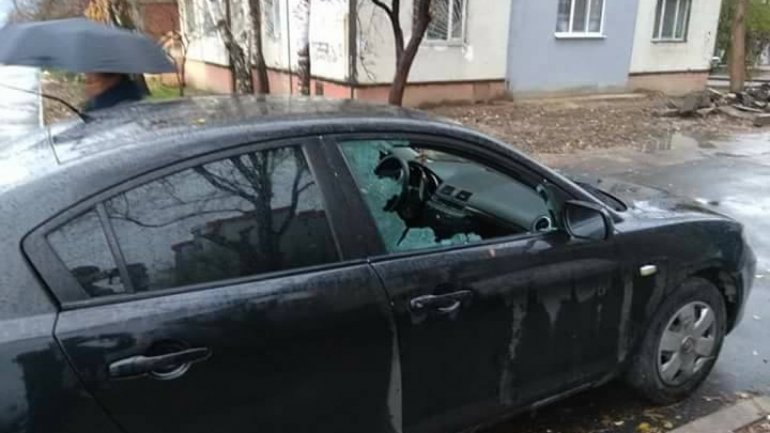 Man found his car vandalized on Ismail street