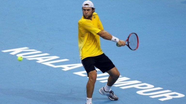 Radu Albot, best Moldovan tennis man has won Chalenger tour from Lizhou, China
