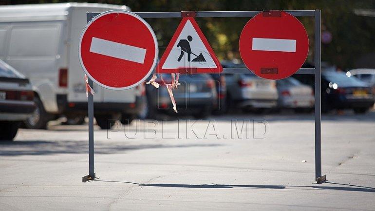 Lunca Bâcului, Uzinelor and Industrială intersection to temporary close off