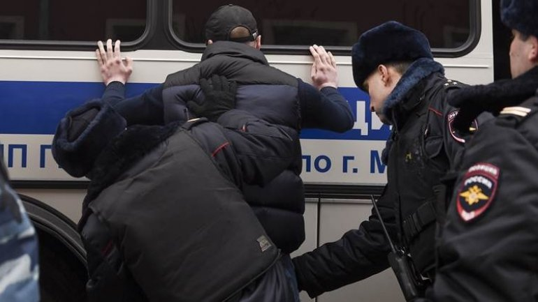 Bomb threats forced evacuation of Moscow's Bolshoi theatre and other city centre buildings amid Unity Day protests