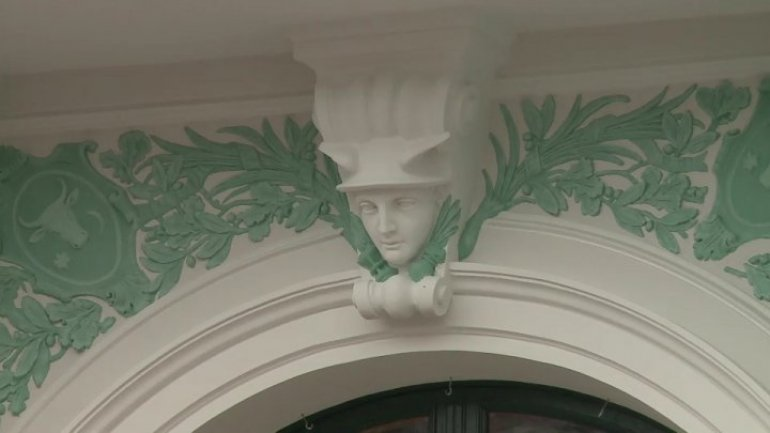 New face of Organ Hall in Chisinau, whole restoration of building will be finished till end of 2017