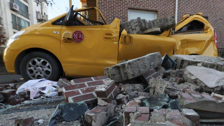 5.4 magnitude earthquake hits South Korea. No casualties reported
