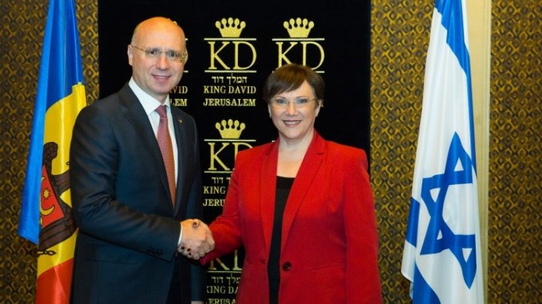 Vice-president of Israel legislature urges businessmen to invest in Moldova