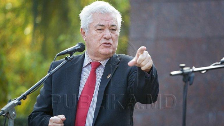 Vladimir Voronin deplored PSRM initiative to collect signatures to turn Moldova into presidential republic