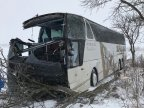 Snow causing havoc. Accidents and power outages all over Moldova