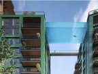 World's first sky pool to be built 35 meters above ground level