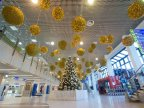 Chisinau International Airport ready for Holiday season. Passengers will be met with gifts and surprises
