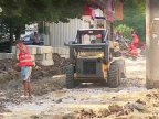 11 roads around the yards of residential blocks in Capital were repaired during this week