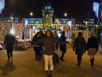 Iasi on Christmas - splendid fairy through tourist's eyes