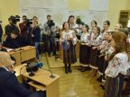 Over 200 children sung carols in Chisinau City Hall