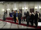 Royal funeral of Romanian King Michael I: Thousands people paid last tributes at Royal Palace in Bucharest