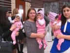 Vlad Plahotniuc's foundation Edelweiss brought joy to six families of triplets