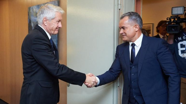 Vlad Plahotniuc met with Thorbjørn Jagland to discuss reforms and recent developments with Transnistria