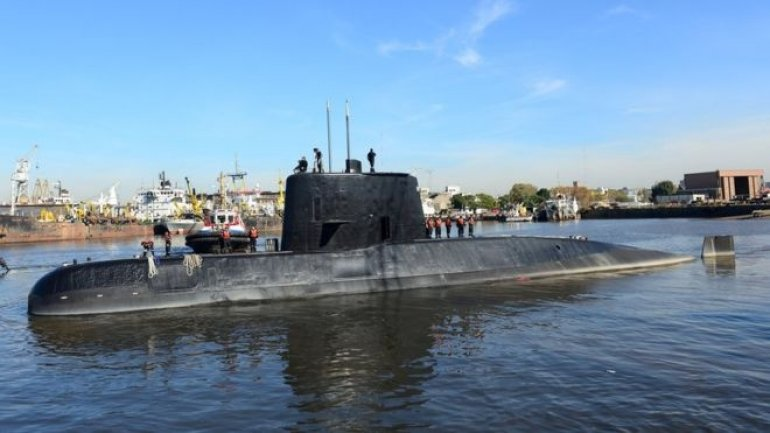 Relatives of 44 crew members of missing Argentine submarine begun raising funds for private searches